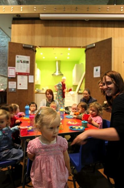 St Parent's and Toddlers inside Peter's Church, Peterchurch