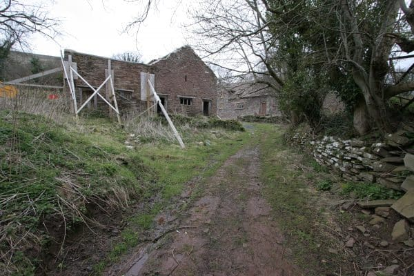Unconverted barn