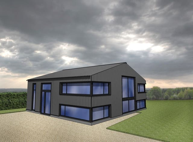Steel barn conversion proposed design