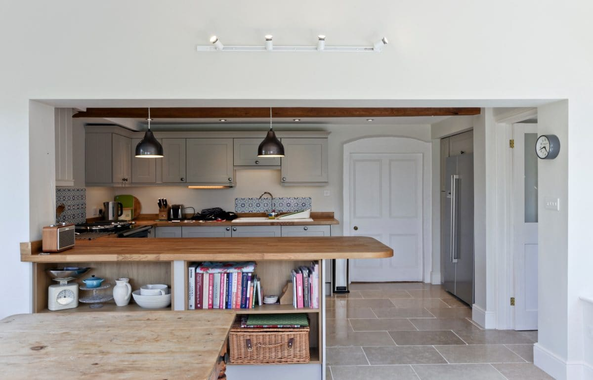 A Handsome Georgian Residence in Herefordshire Reconfigured to Transform Family Life