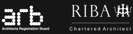 ARB and RIBA logos