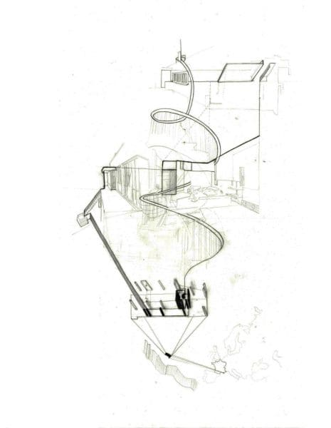 The depiction of movement through Eileen Gray's House E-1027